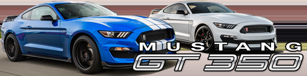 Mustang Shelby GT350 Forum
